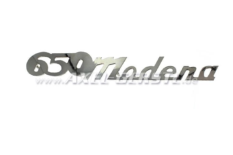 Emblème arrière 650 Modena