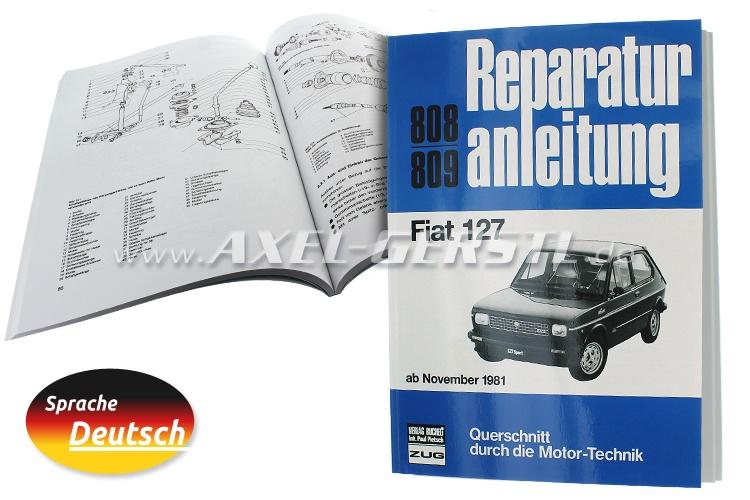 Reparaturanleitung Nr. 808/809, Orig. Bucheli Verlag, 127S.