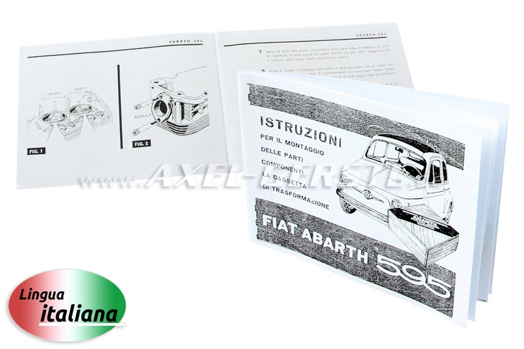 Instructions de transformation Abarth 595,copie (en italien)