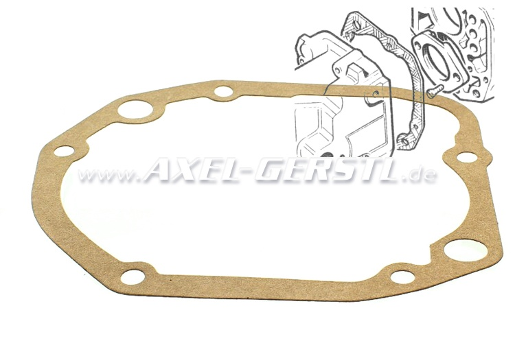 Transmission cover gasket (shift rail casing)