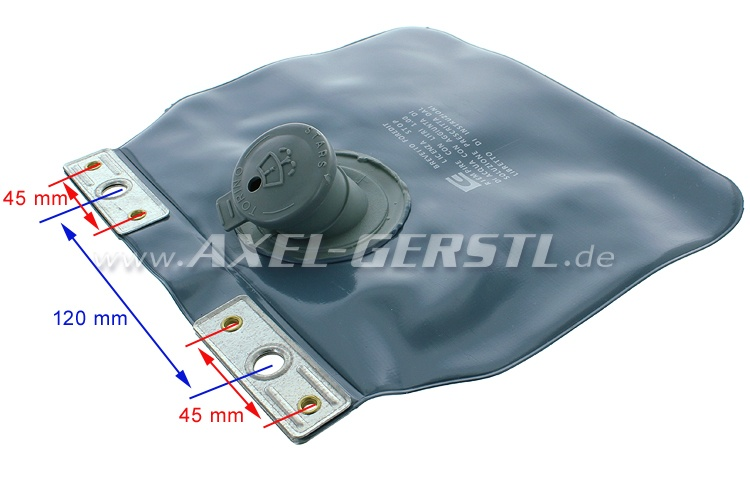 Water reservoir / tank for windscreen wiper