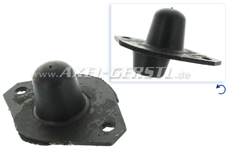 Rubber bearing large for engine mounting (metal)