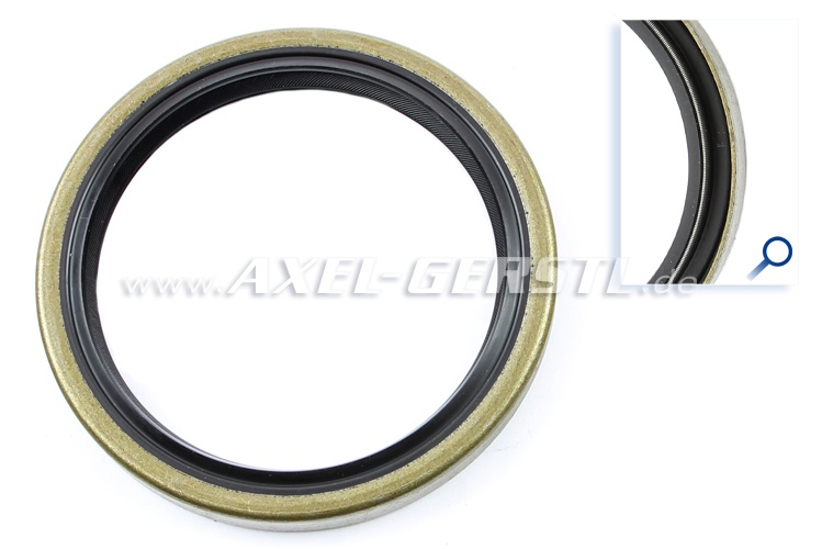 Radial shaft seal for engine, rear (clutch side)