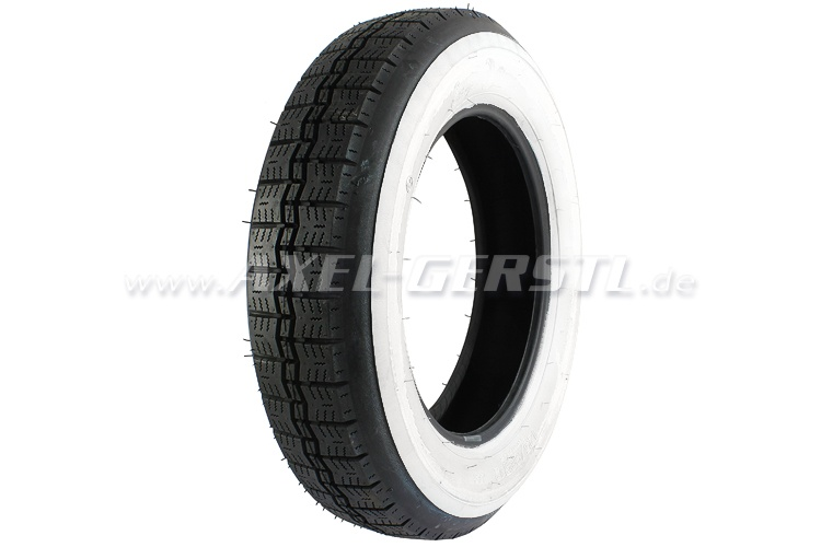 Tire with white streak 125/80/12 European Classics