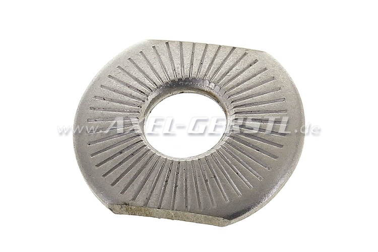 Plain washer for screw for oil pan