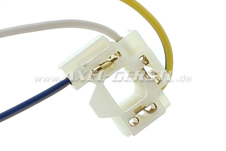 Stecker / Lampenanschluss (3-polig) für Frontscheinwerfer