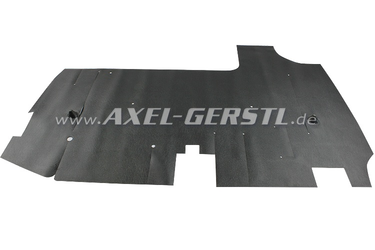 Rubber mat for trunk
