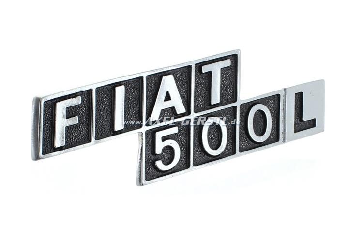 Heckemblem FIAT 500 L, Metall
