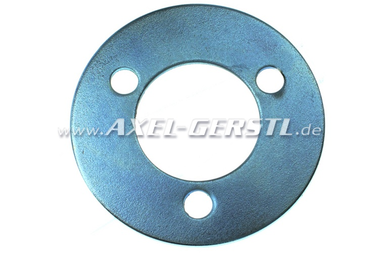 Spacer for pulley