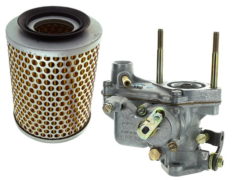 Air filter & Carburetor