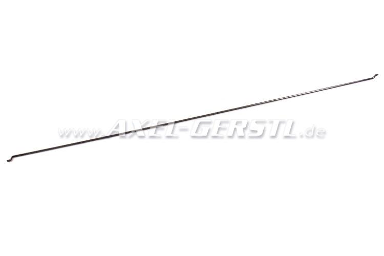Rod for door opener mechanism, internal