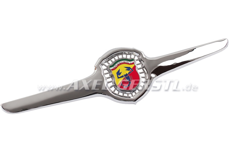 Front badge Abarth (wings perforated with middle badge)