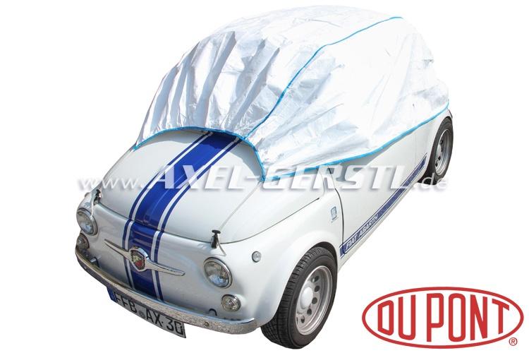 Garage per auto parziale tyvec du pont bianco fiat 500 for Garage per auto modulari 3