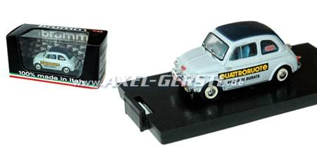SoPo: Modellauto Brumm Fiat 500 N, hellblau Quattroruote