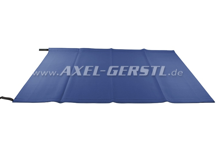 Convertible top cover, blue