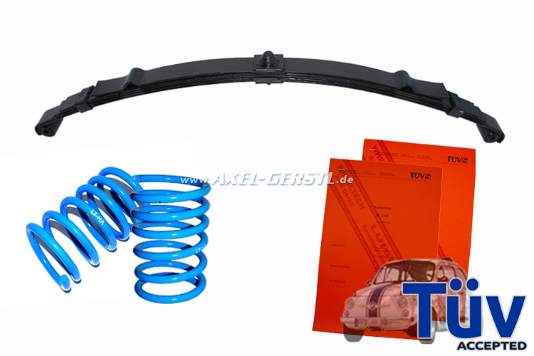 Logotech lowering kit (with TÜV acceptance)
