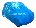 Car cover, Puff, cloth / fleece light blue