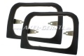 Headlamp frame left and right, plastic, Anti-Theft-Frame