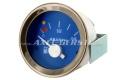 Abarth petrol gauge, 52mm, blue dial