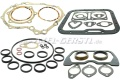 Set of engine gaskets & seals with radial shaft seal rings