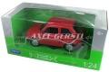 Modellauto Welly Fiat 126, 1:24, Farbe rot