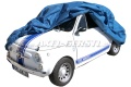 Car cover Puff with fleece, blue