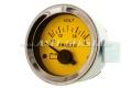 Abarth Voltmeter, 52mm, gelbes Zifferblatt