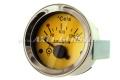 Abarth Öltemperaturanzeige, 52mm, gelbes Zifferblatt