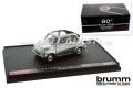 Voiture miniature 60 ans de Fiat 500, 1:43, avec cristaux