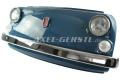 Wand-Deko Fiat-500-Frontmaske dunkelblau, inkl.Beleuchtung