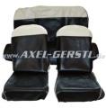 Selleria SKY, nero bianco, completo anteriore e posteriore