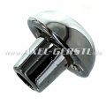 Gear shift knob (original shape), plastic, chrome-colour