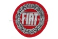 Aufnäher Fiat, rund 78 mm