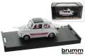 Modello dauto Brumm Abarth 695SS, 1:43, bianco / chiuso