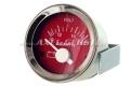 Abarth Voltmeter, 52mm, rotes Zifferblatt