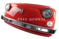 Wand-Deko Fiat-500-Frontmaske rot, inkl. Beleuchtung